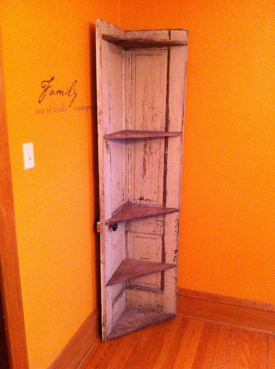 Custom Made Corner Cabinet by Dads DreamRePurposed