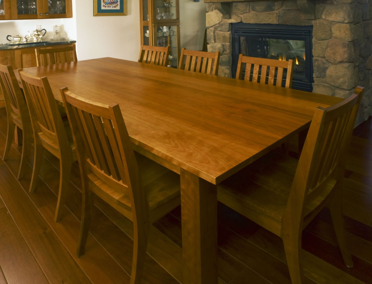 custom restaurant tables and chairs kids high chair booster seat hand made cherry dining table by kinion