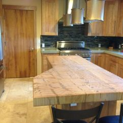 Farmhouse Style Kitchen Islands What Is The Average Cost For Cabinets Handmade End Grain Ambrosia Maple Island Top By ...