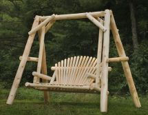 Hand Outdoor Cedar Log Furniture Briar Hill Rustic