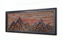 Wood Iron Wall Art   Wall Plate Design Ideas