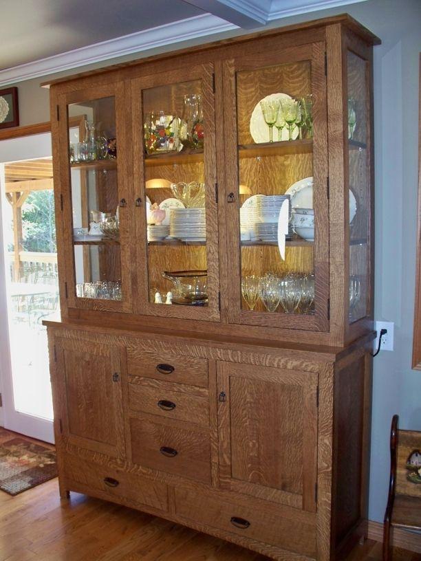 Handmade China Cabinet by Oak Tree Cabinetry  CustomMadecom