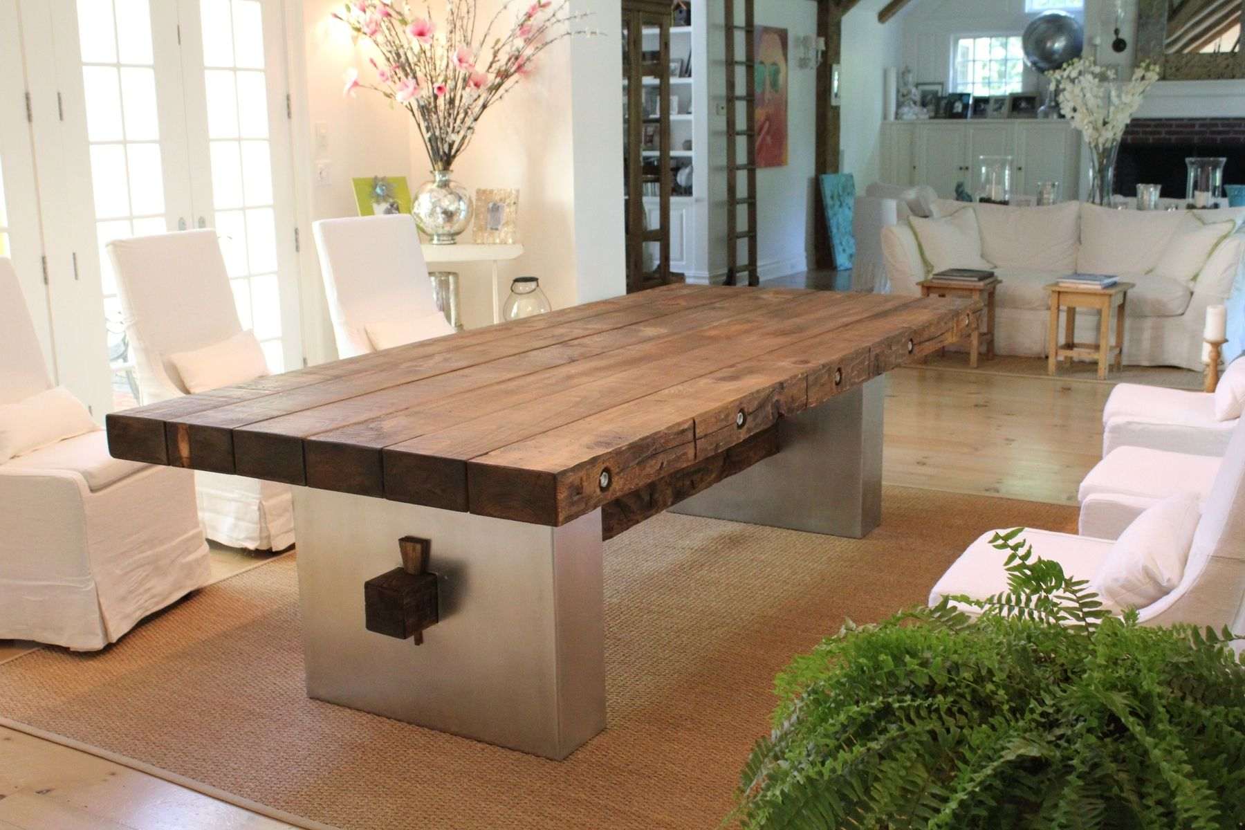 Custom Barn Wood Dining Table by JR Signature Creations