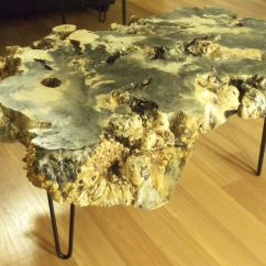 Living Room Furniture Black Gloss Small Layout Ideas With Tv Custom Made Buckeye Burl Coffee Table By Ozma Design ...