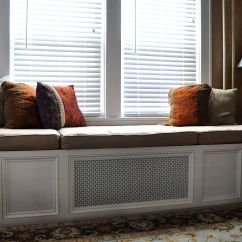 Plans To Build A Sofa Bed Steel And Gl Table Hand Made Custom Window Seat Cushion By Hearth Home ...
