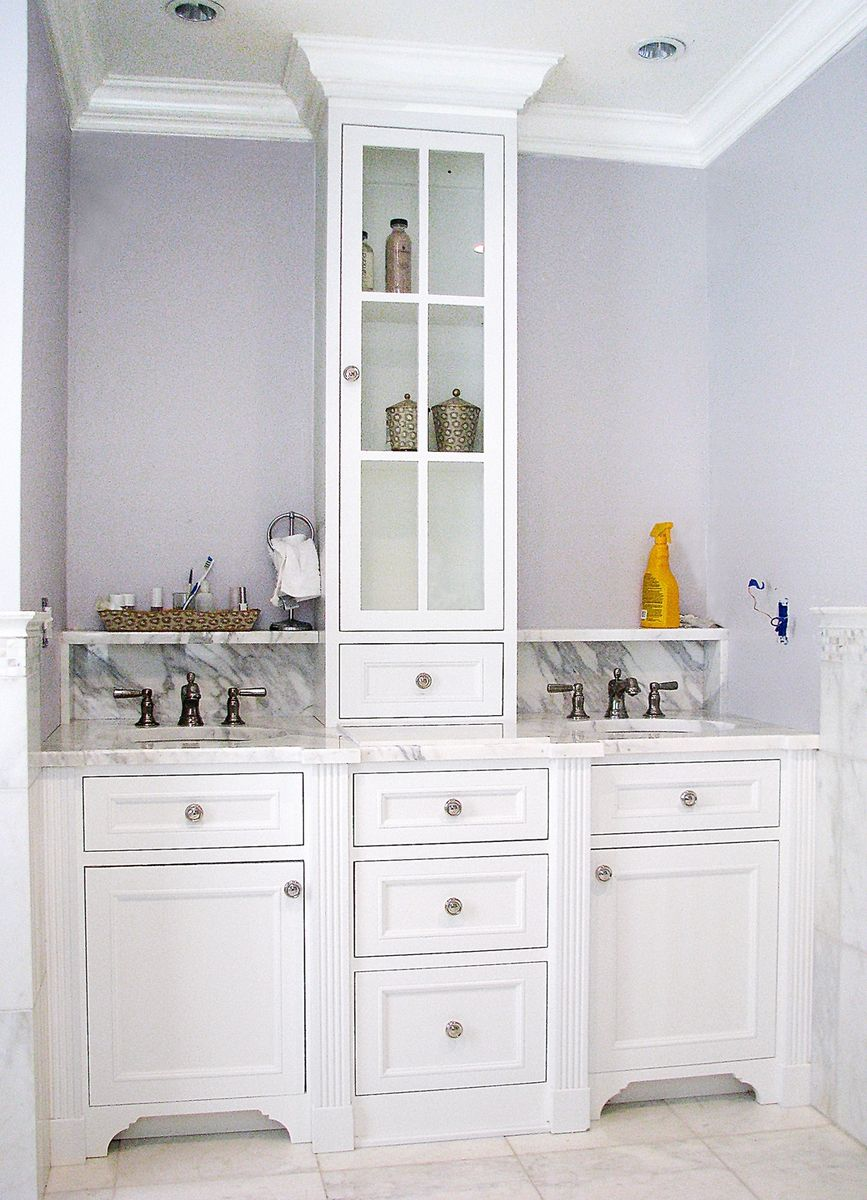 Hand Crafted Master Bath Vanity by The Woodworkers Studio  CustomMadecom
