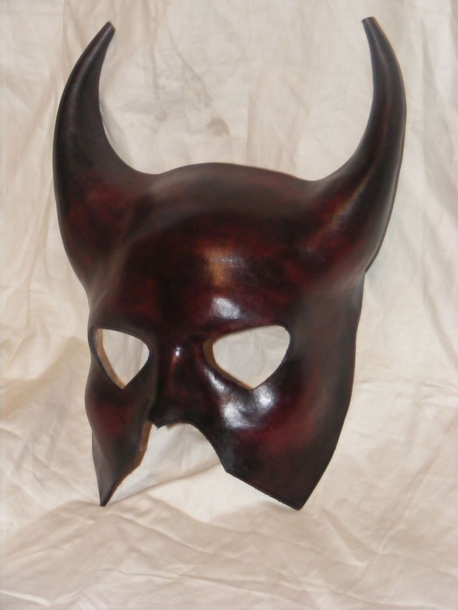 Hand Crafted Leather Mask by Bears Emporium  CustomMadecom