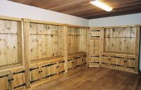 Hand Crafted Gun Cabinets by Naked Tree Woodworking ...
