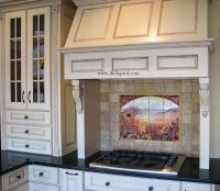 Hand Made Sunflower Kitchen Backsplashes & Tile Murals by ...