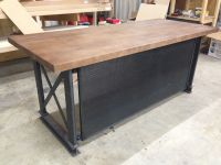 Buy a Handmade The Industrial Carruca Office Desk, made to ...