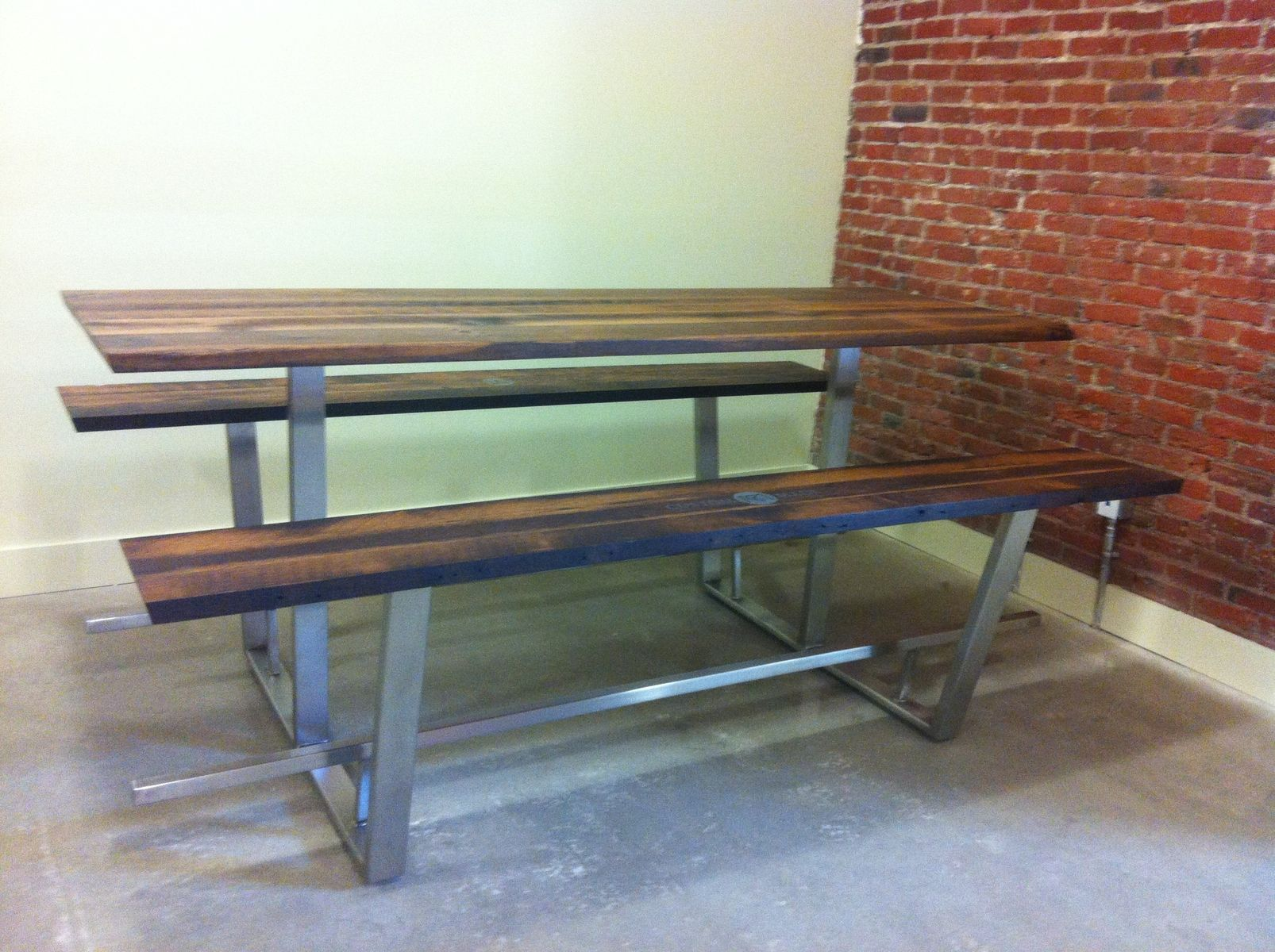 Hand Crafted Custom Picnic Table By Twelve26studio