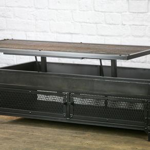industrial coffee tables custommade com