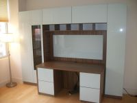 Hand Made Custom Home Office Solution - Large Desk With ...