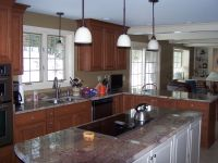 Handmade Kitchen, Living, Dining Room Remodel by Northwind ...