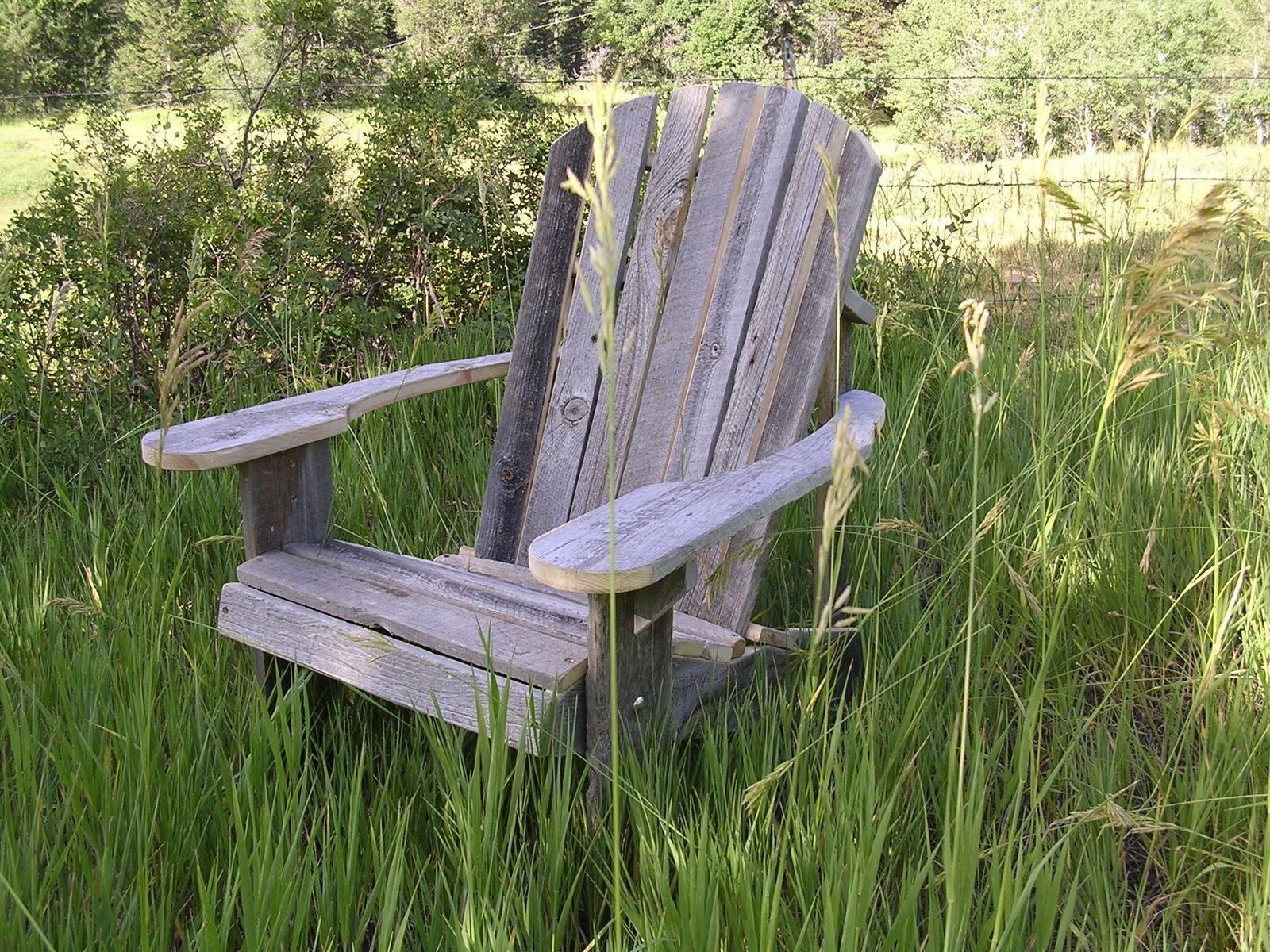 Rustic Wood Chairs Hand Made Adirondack Chair Rustic Barn Wood Furniture By