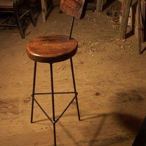 zac swivel chair cane barrel back custom bar furniture | custommade.com