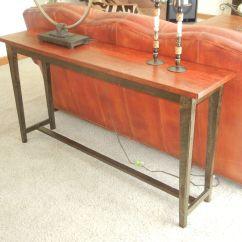 Custom Made Sofa Tables Flexible Reclaimed Wood Table By Jay 39s