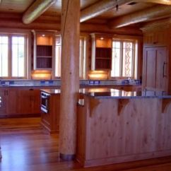Reclaimed Wood Kitchen Cabinets Wooden Chairs For Custom Knotty Alder - Solid ...