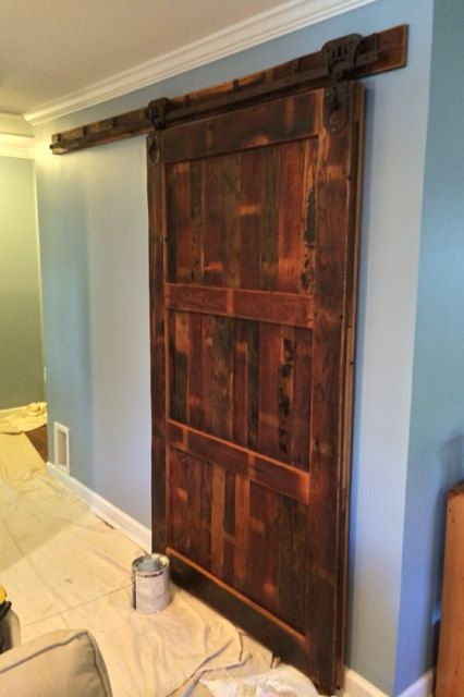Buy A Handmade Sliding Barn Door From Reclaimed Wormy