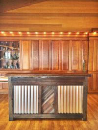 Custom Made Reclaimed Wood Rustic Bar by Urban Mining ...