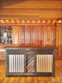 Custom Reclaimed Wood Rustic Bar Urban Mining