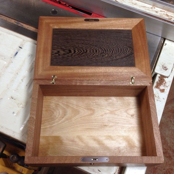 Handmade Locking Keepsake Box Cjs Woodworks