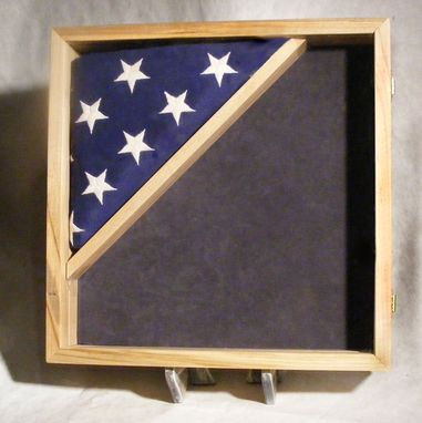 Hand Made Custom Shadow Boxes And Display Cases For Military Retirements by Greg Seitz