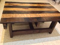 Hand Crafted Handmade Reclaimed Rustic Pallet Wood Coffee ...