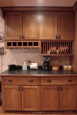Custom QuarterSawn Oak Kitchen by Peabody Enterprises