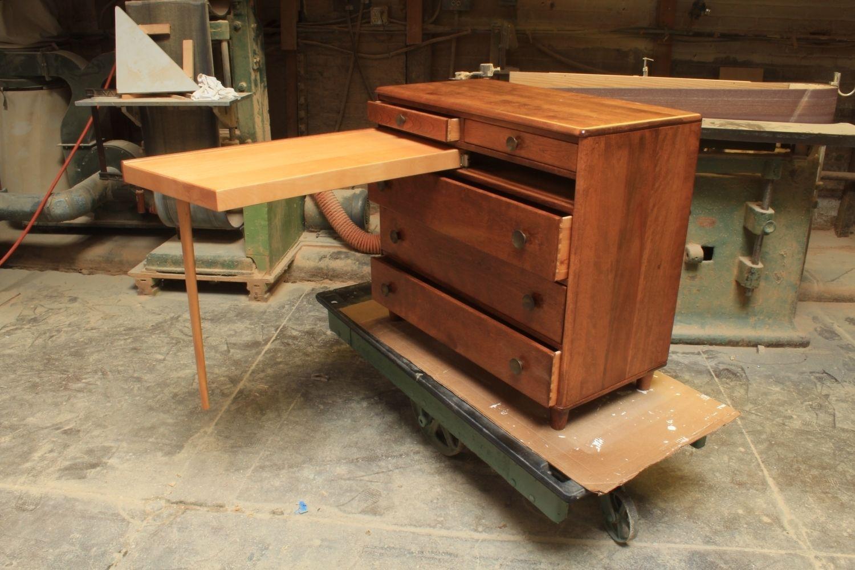 Hand Made Refinished  Refurbished Mid Century Mordern Dresser by R J Hoppe Inc  CustomMadecom