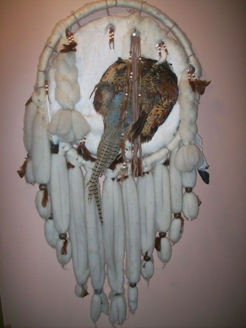 Buy A Hand Made Custom Leather Dream Catcher Made To