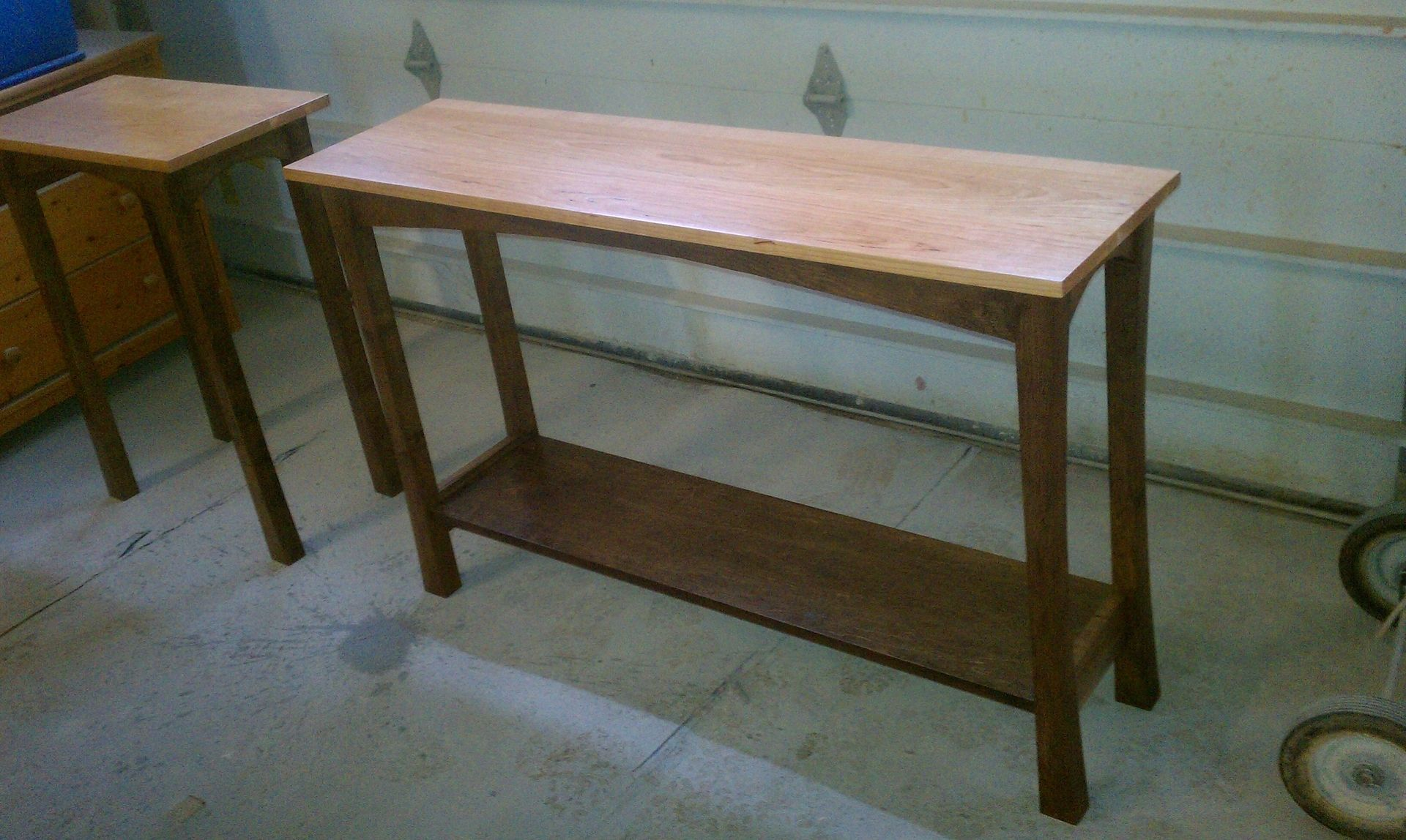 custom made sofa tables small leather toronto table by v s f interiors and woodworks