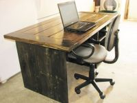 Hand Made Farmhouse Style Office Desk by Custom Made ...