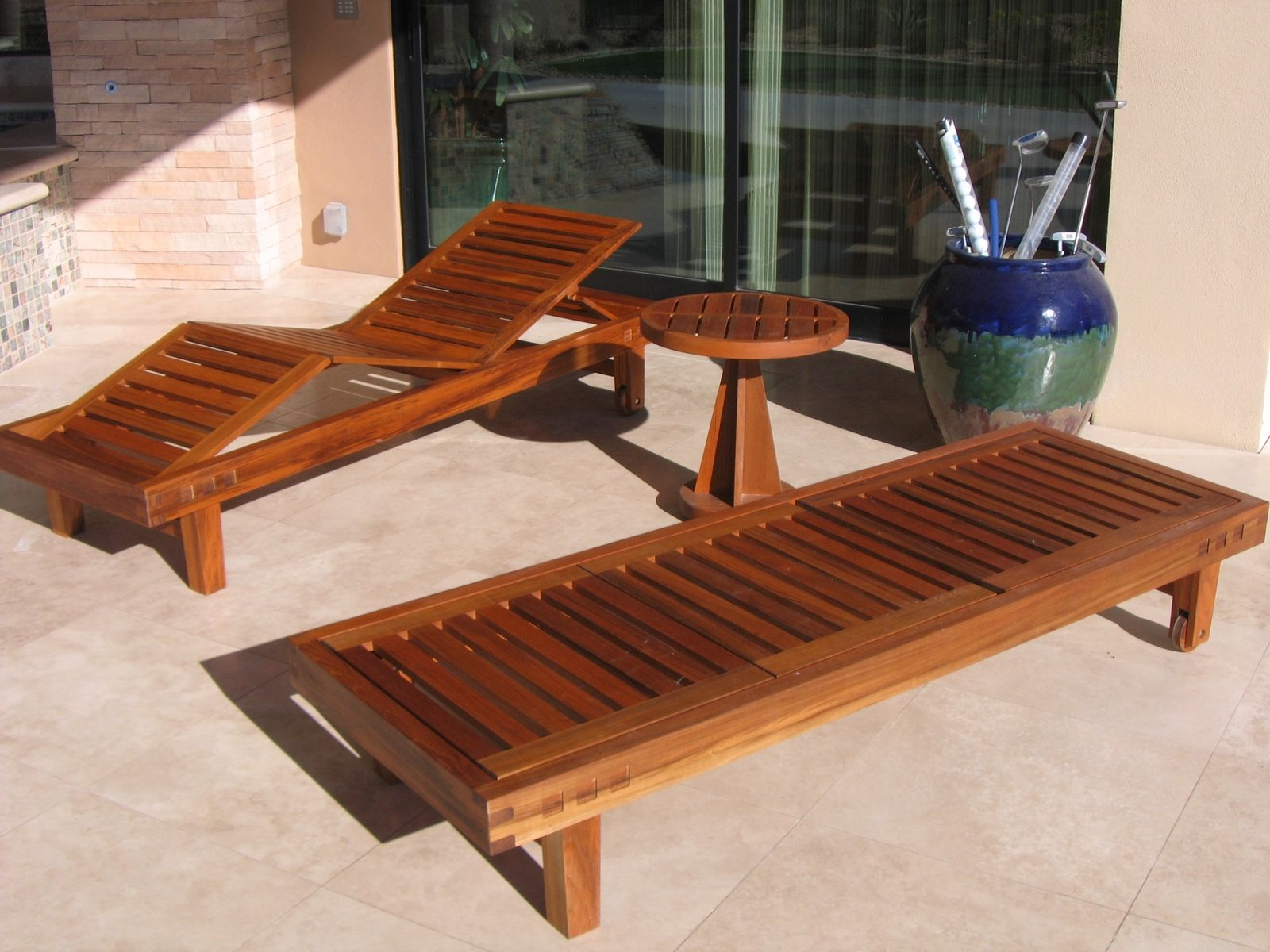 what are pool chairs made out of pyramat wireless gaming chair how to connect handmade teak patio furniture by riverwoods mill