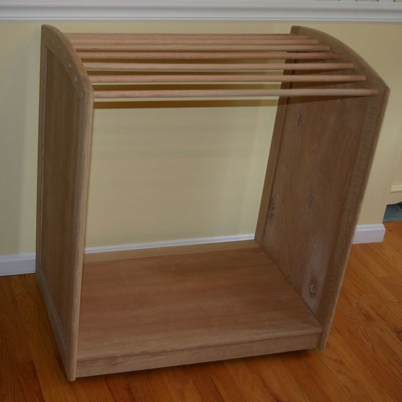 Hand Crafted Horse Saddle Pad Rack By Lyons Woodworking