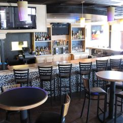 Kitchen Remodel Austin One Handle Faucet Hand Crafted Latitudes Cafe - Commercial Bar By ...