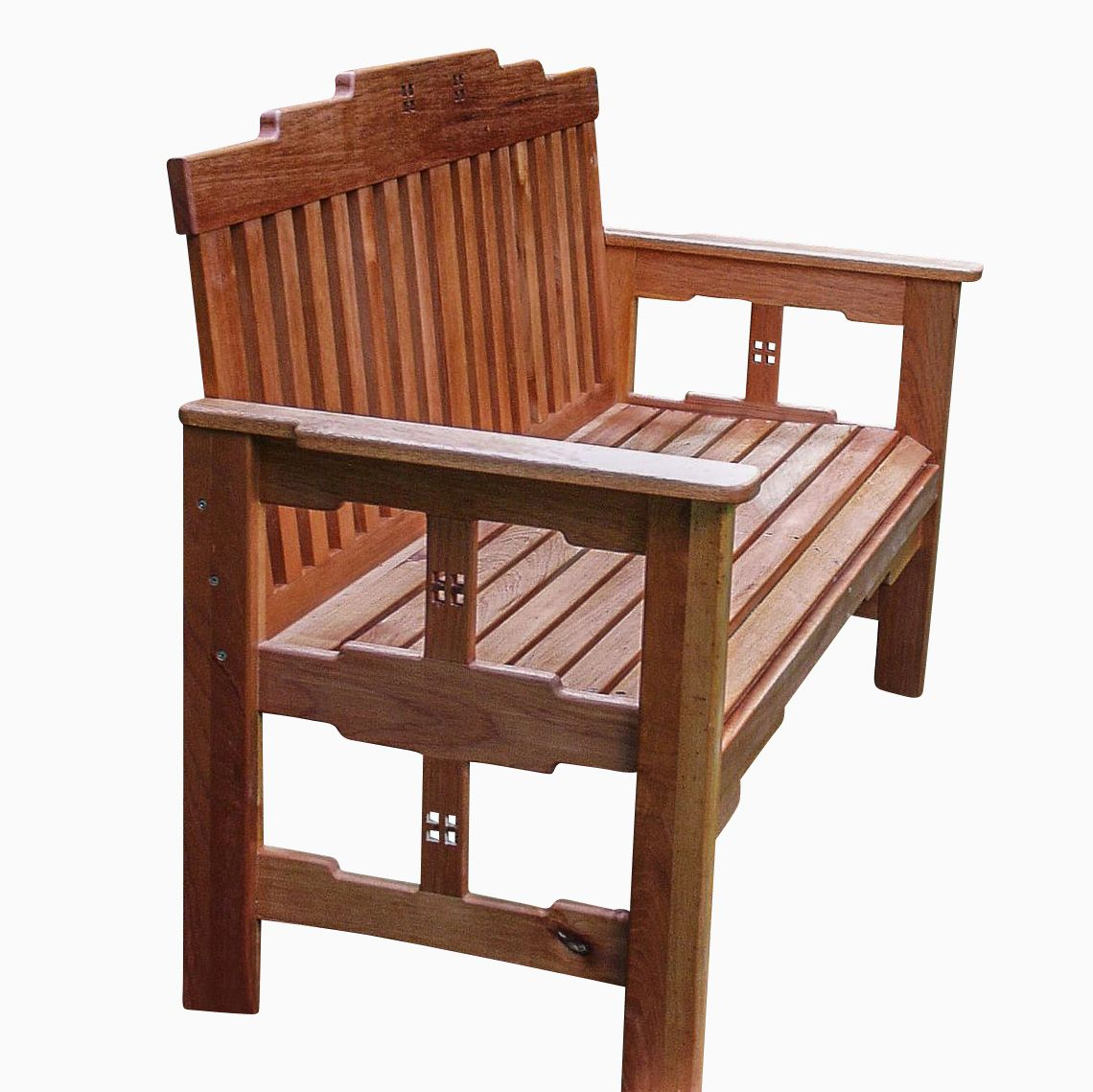 bedroom chair m&s summer winds patio chairs custom arts and crafts garden bench by dog woodworks