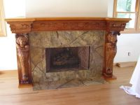 Custom Fireplace Mantel by special tree productions ...