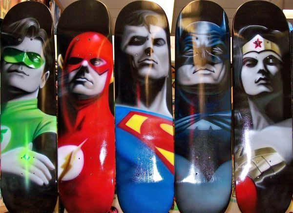 Hand Skateboards Myrtle Beach Airbrush