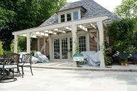 Hand Crafted Pool House Pergola by Lbm Design | CustomMade.com
