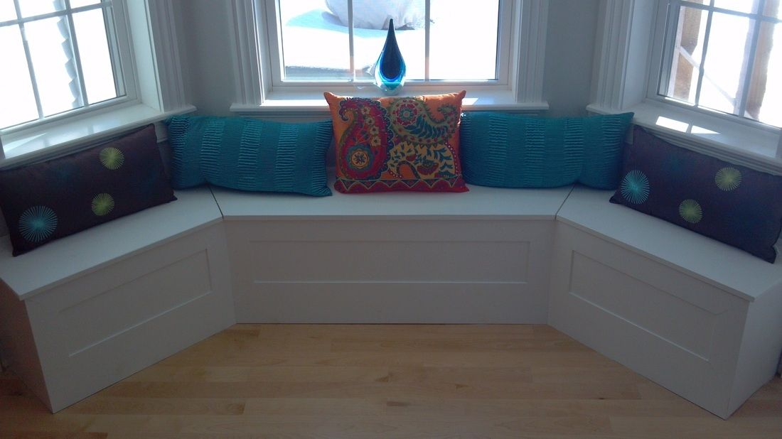 Hand Crafted Custom Breakfast Nook BuiltIn by Perspective