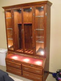 Hand Made Gun Cabinet by Furniture Your Way | CustomMade.com