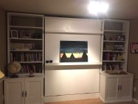 Custom Murphy Bed And Wall Unit by Make Art | CustomMade.com
