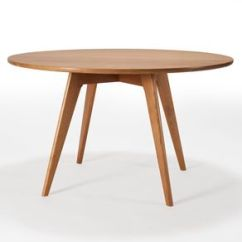 Kitchen Table Round Cabinets Tucson Dining And Tables Custommade Com Mid Century Modern Solid Cherry Wood Pedestal