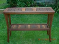 Hand Crafted Outdoor Serving Table by Papa's Workshop ...