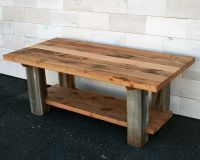 Hand Made Reclaimed Fir And Barn Wood Coffee Table by ...