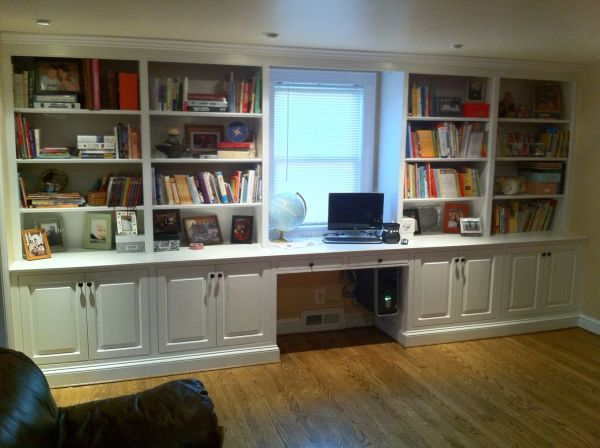 Built in Bookcase Wall Units