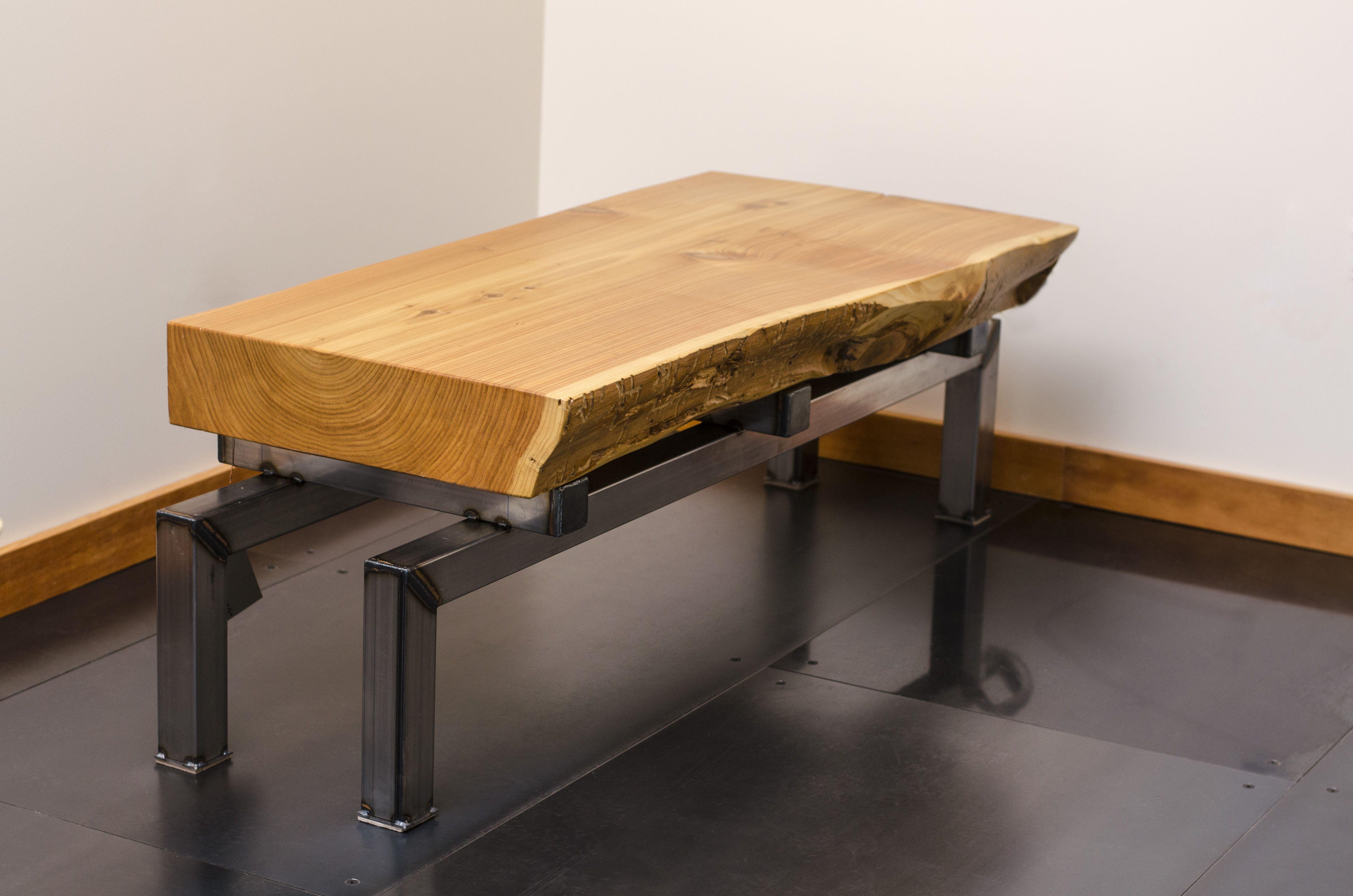 steel chair in slab hammock indoor buy a hand crafted live edge cedar coffee table on
