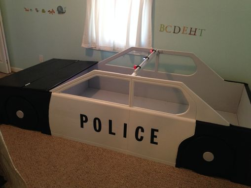 Handmade Police Car Twin Bed by RBS Wood Creations  CustomMadecom