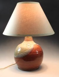 Hand Crafted Ceramic Table Lamp by Bridges Pottery LLC ...